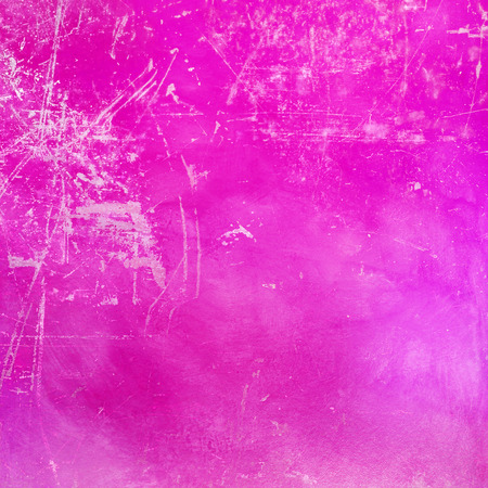 scratched: Pink scratched