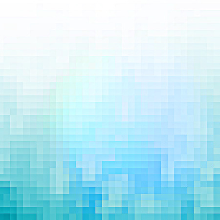 Abstract blue pixel background photo