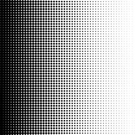 gradation art: Halftone dots background
