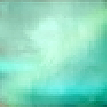 Cyan pixel background texture Stock Photo