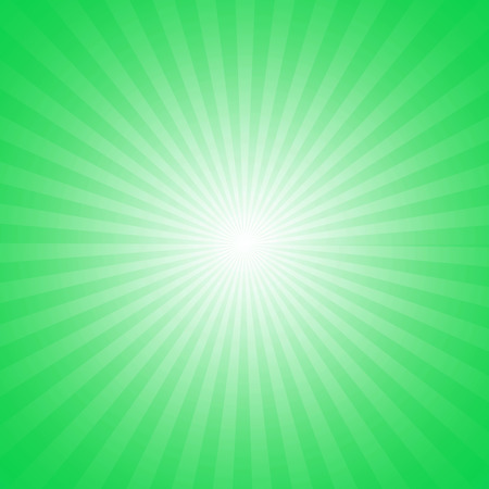 Green starburst effect background
