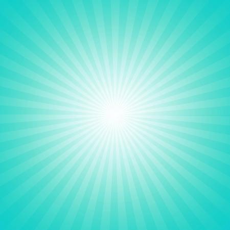 Cyan starburst effect background photo