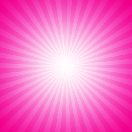 starburst: Pink starburst effect background Stock Photo