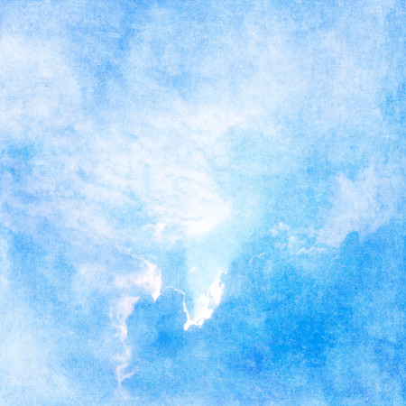 Blue sky pastel background Stock Photo