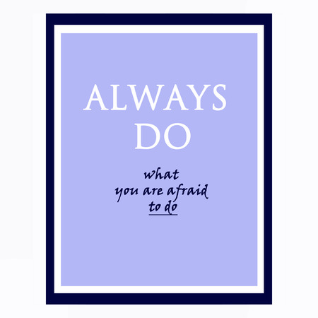 inspirational and motivational quotes poster by Ralph Waldo Emerson. Effects poster, frame, colors background and colors text are editable. Ideal for print poster, card, shirt, mug. photo