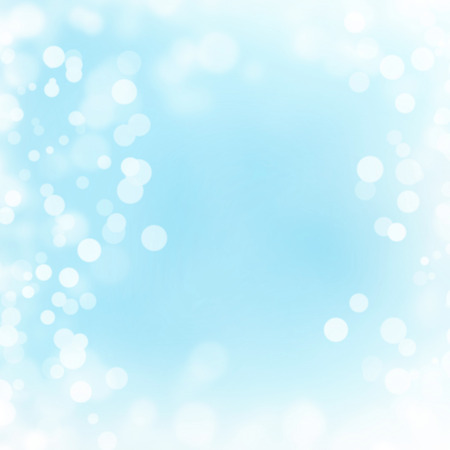 blinking: Pastel turquoise bokeh background Stock Photo