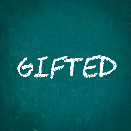 gifted: GIFTED written on chalkboard