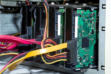 Massive hard disk drives