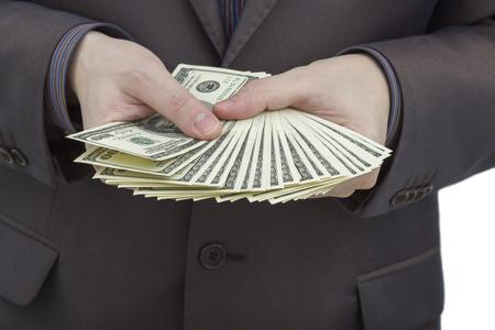show bill: Hombre con dinero