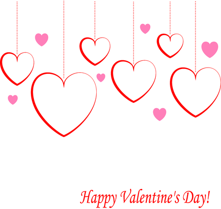 Valentines day background Ilustrace