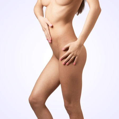 Nudes female body, legs and arms (side view) Stock Photo - 10827027