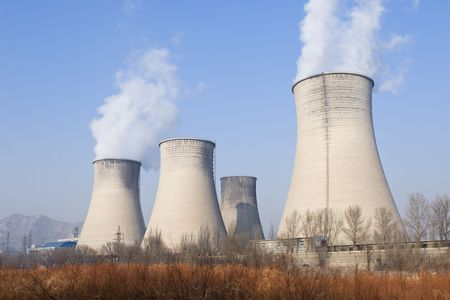 environmental issues: powerplant in northern china Editorial