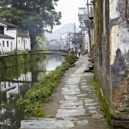 kongcun, a small village in wuyuan, jiangxi province, china. photo