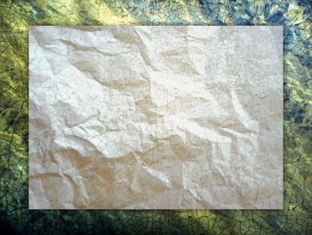 Régi papírlap, absztrakt háttér, falfesték