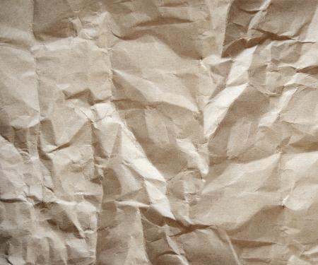 Újrahasznosított barna papír háttér közelről, Vintage papír