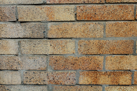 A brick background