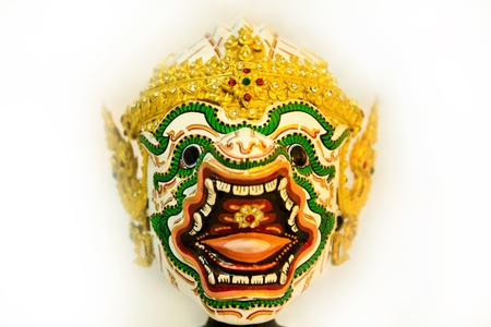 puppets,Rama in Thailand photo
