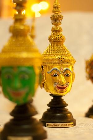 Golden,Ramayana,Thailand Stock Photo - 11753809