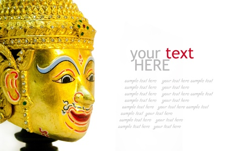 Sample text Thailand style Stock Photo - 11753931