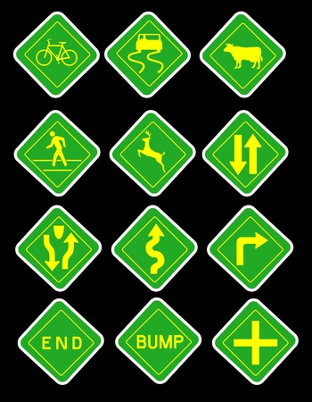 Traffic Symbols Stock Photo - 11878729