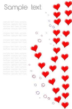 Sample text hearth,valentine  photo