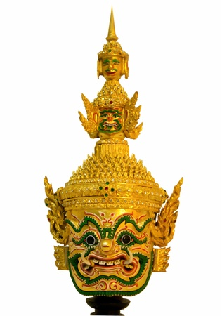 khon: Giant mask,Khon, traditional