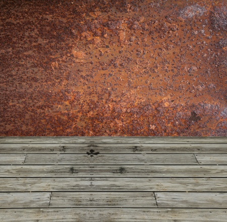 oxidate: Rust wall textuer ,background