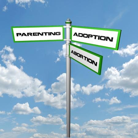 parenting signpost photo