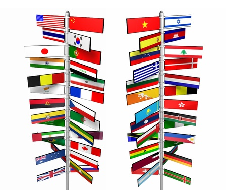States of the World and Their Flags photo