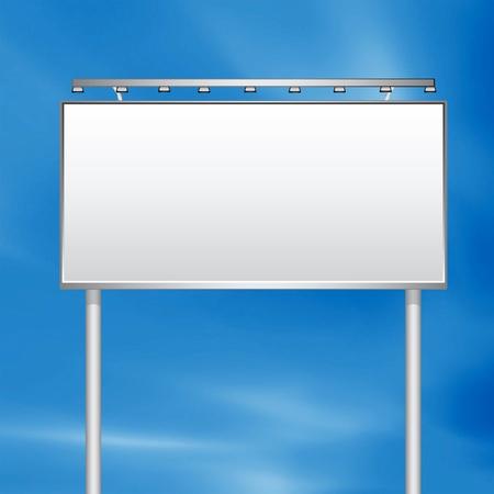 blank expression: White Billboard