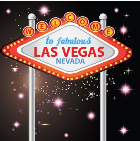 Welcome to Fabulous Las Vegas ,Vector Stock Vector - 14958583