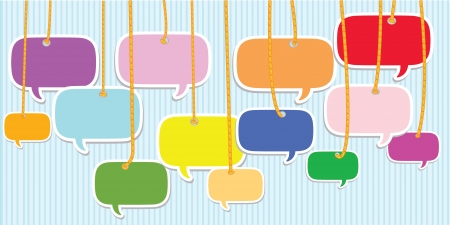 Bubbles talk,Vector Stock Vector - 14958580