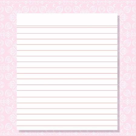 Blank white paper Stock Vector - 16160044
