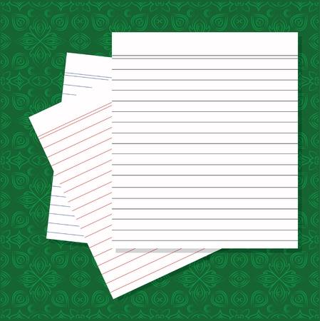 Blank white paper Stock Vector - 16160003