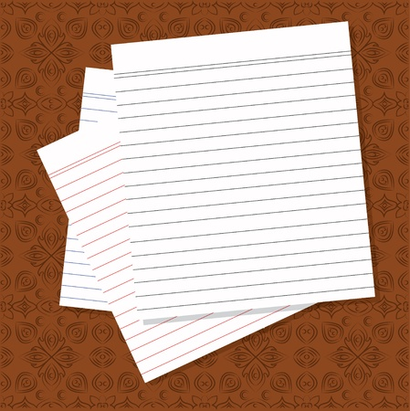 Blank white paper Stock Vector - 16160000