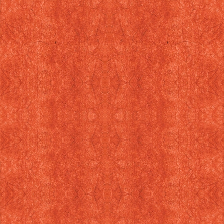 mulberry paper: Orange handmade mulberry paper texture  Stock Photo