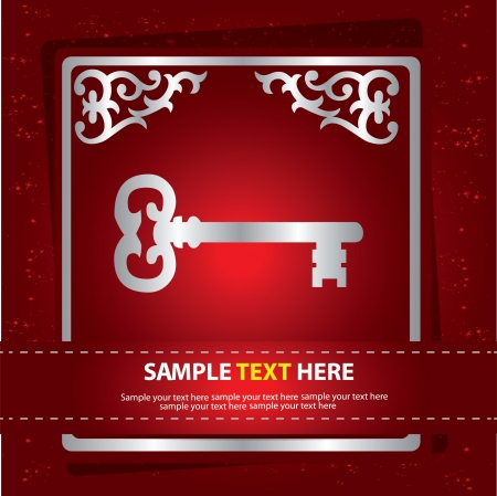 Key sign,aabstract,Vect or  Stock Vector - 16174097