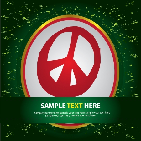 War sign,Vector  Stock Vector - 16174189