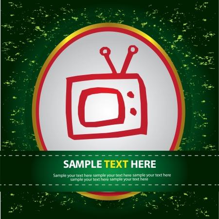 Tv sign ,Vector Stock Vector - 16174190