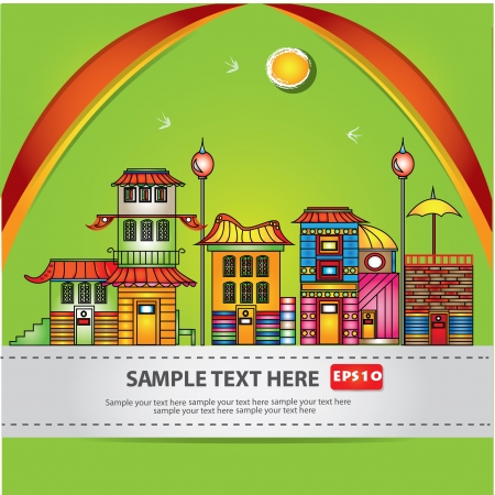 House,cartoon,Vector  Stock Vector - 16174292