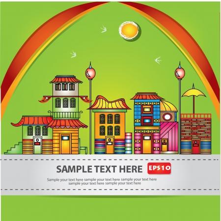 House,cartoon,Vector Stock Vector - 16174292