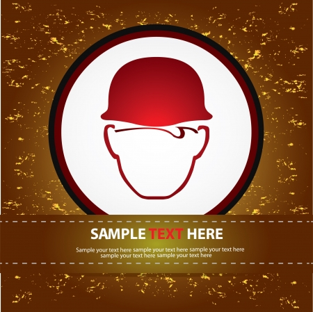 Hardhat construction work ,Vector Stock Vector - 16174071