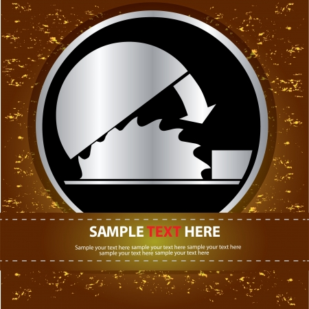 Blade safety sign,Vector  Stock Vector - 16174297