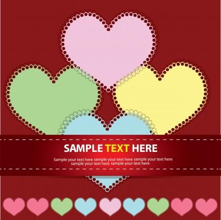 Heart abstract,Vector Stock Vector - 16225937