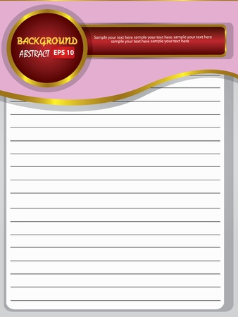 Blank old paper for text,Vector Stock Vector - 18588184