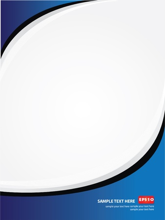 blue abstract: Frame for text,Vector  Illustration