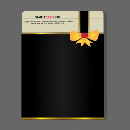 Black paper card,abstract,Vector Vector