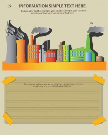 powerplant: Fabriek, olieboringen, kerncentrale en energie, Vector