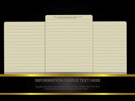 Blank paper for business,Vector Stock Vector - 18625454