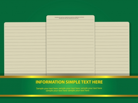 Blank paper for business,Vector  Vector